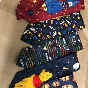 Space themed ties